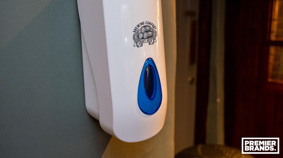 Branded-soap-dispenser